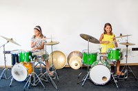 Group drum set lessons